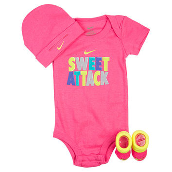 Infant Nike Sweet Attack 3-Piece Set