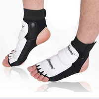 1pair Ankle Brace Support Pad Guard Foot Gloves Protection MMA/Muay Thai/Boxing SS