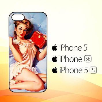 The Pin Up Girls Y1974  iPhone 5|5S|SE Case