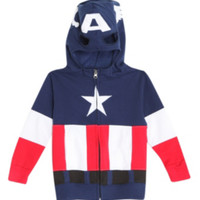 Marvel Captain America Toddler Zip Hoodie