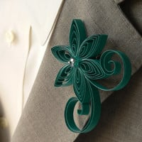 Oasis Boutonniere, Oasis Buttonhole, Oasis Wedding, Mens Wedding Boutonniere for Wedding