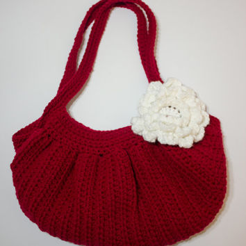 Shop Crochet Hobo Bags On Wanelo Magnificent Crochet Hobo Bag Pattern