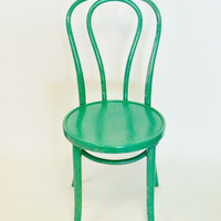Thonet bentwood chair {Emerald Green}