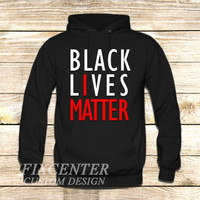 BLACK LIVES MATTER on Hoodie Jacket
