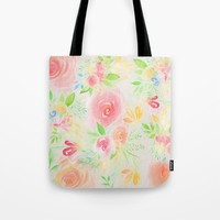 summer flowers Tote Bag by sylviacookphotography