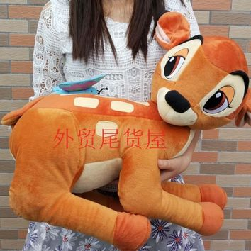 Limited Collection Bambi Deer Butterfly Cute Stuff Animal Soft Plush Toy Doll Children Birthday Gift Christmas Gift