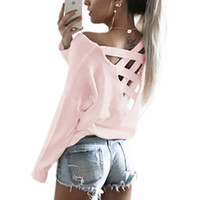 Strappy Back Long Sleeve Tee