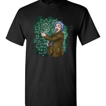 Albert Einstein Morty awesome t-shirt for adult Men