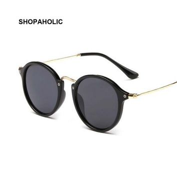 Round Men Sunglasses Women Brand Designer Sun Glasses for Women Alloy Male Ladies Vintage Sunglasses Ray Oculos De Sol Glases