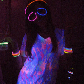 Made To Order Glow In The Dark Tie Dye TShirts by ToLiveIsToDye