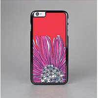 The Artistic Purple & Coral Floral Skin-Sert for the Apple iPhone 6 Skin-Sert Case