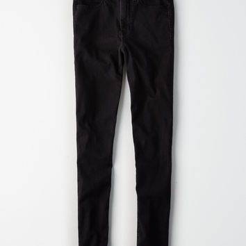 AE Denim X Super Hi-Rise Jegging, Black