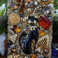 Gorgeous Vintage Cat iPhone 4/4S Case