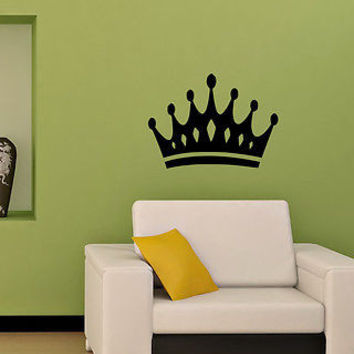 WALL STICKER DECALS ART MURAL CROWN T508