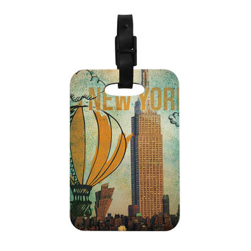 "iRuz33 ""New York"" Decorative Luggage Tag"