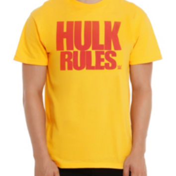 WWE Hulk Hogan Hulk Rules T-Shirt