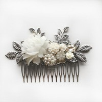 Sophia - Grand Wedding Hair Comb in Silver (Limited Edition)