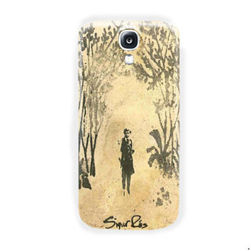 Sigur Ros Beauty Art Cover Design For Samsung Galaxy S4 Case
