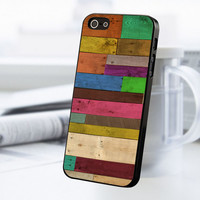 Wood Panel iPhone 5 Or 5S Case