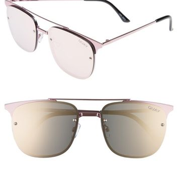 Quay Australia Private Eyes 55mm Sunglasses | Nordstrom
