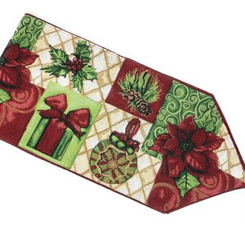 Tache Holiday Tidings Table Runners