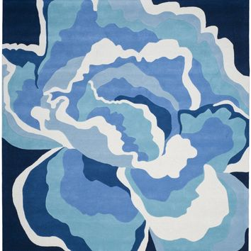 Allure Contemporary Indoorarea Rug Mediterranean / Blue