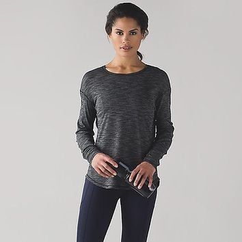 Lululemon Women Yoga Long Sleeve Sport Tunic Shirt Top Blouse