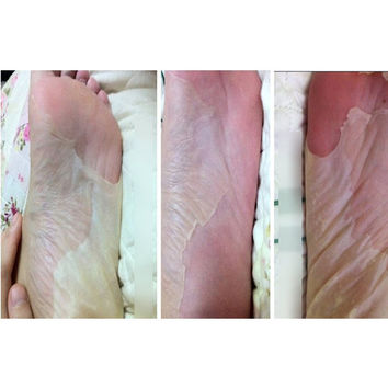 8pcs=4bag Baby Foot Peeling Exfoliating Foot Mask Sox Remove Dead Skin As Beauty Foot Care Pedicure Socks Sosu