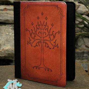 iPad 2,3, 4 - iPad Air 1, 2 - Lord Of the Rings White Tree - Tablet Case
