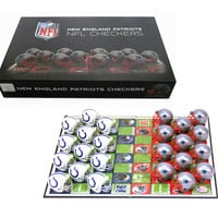 New England Patriots Checker Set