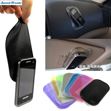 Sweettreats Desk Anti-slip Sticky Pad Mat in Car for Gadgets Accessory car phone shelf antislip mat gps mp3 cell holder