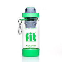 14oz Clear FIT Top Filtering Sports Water Bottle