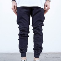 Navy Twill | Sunset Jogger