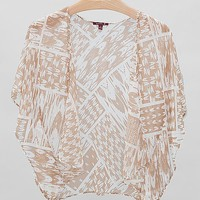 Silver Gate All-Over Print Cardigan