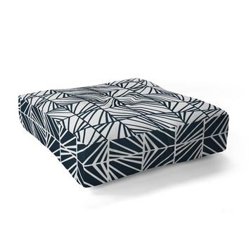 Heather Dutton Facets Optic Floor Pillow Square