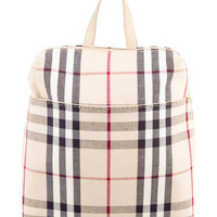 Burberry Nova Check Backpack