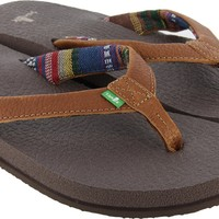 Sanuk Yoga Mat Primo Sandals - brown - Shoes > Women's Footwear > Women's Sandals