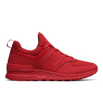 NEW BALANCE MS574SCP - RED