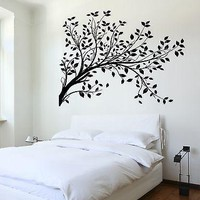 Wall Decal Tree Branch Cool Art For Bedroom Vinyl Sticker Unique Gift (z3621)