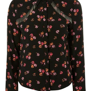 Floral Fringe Shirt - New In Fashion - New In