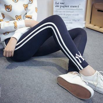 NY AF Holister Style Multi-Color Summer High Quality Cotton Casual Holiday Cotton Sweatpants Exercise Gym Yoga Trousers Pants _ 5742