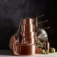 Mauviel Copper 5-Piece Cookware Set
