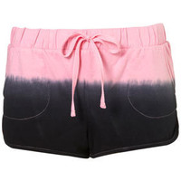 Dip Dye Running Shorts - Shorts  - Apparel  - Topshop USA