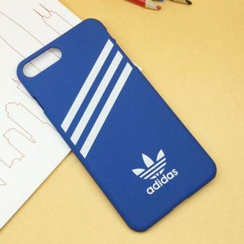 PEAPDQ7 Adidas Print Blue Cover Case For Iphone 7 7plus & 6 6s Plus  + Gift Box