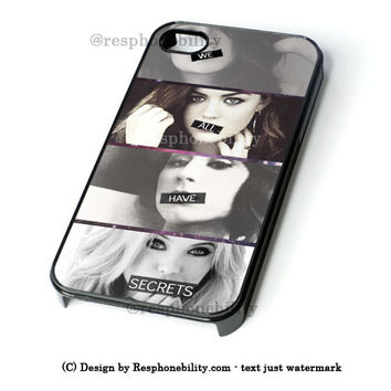Pretty Little Liars iPhone 4 4S 5 5S 5C 6 6 Plus Case , iPod 4 5 Case  , Samsung Galaxy S3 S4 S5 Note 3 Note 4 Case , and HTC One X M7 M8 Case