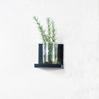 Black Floating Shelf - Sconce Shelf - Black Shelves - Wall Storage - Bookshelves - Black - Custom Color Options