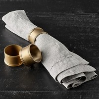 Vintage Hotel Napkin Rings (Set of 4)