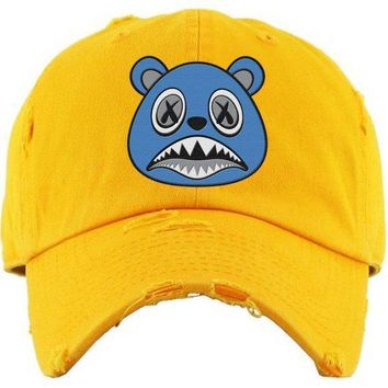 UNC BAWS Yellow Dad Hat