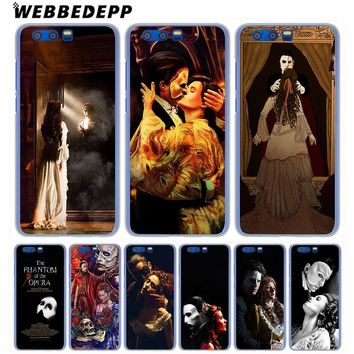 WEBBEDEPP The Phantom of the Opera Phone Case for Huawei Honor Play 9 8 Lite 10 9i 7X 6A 6C 7A Pro 2GB Note 10 Cover