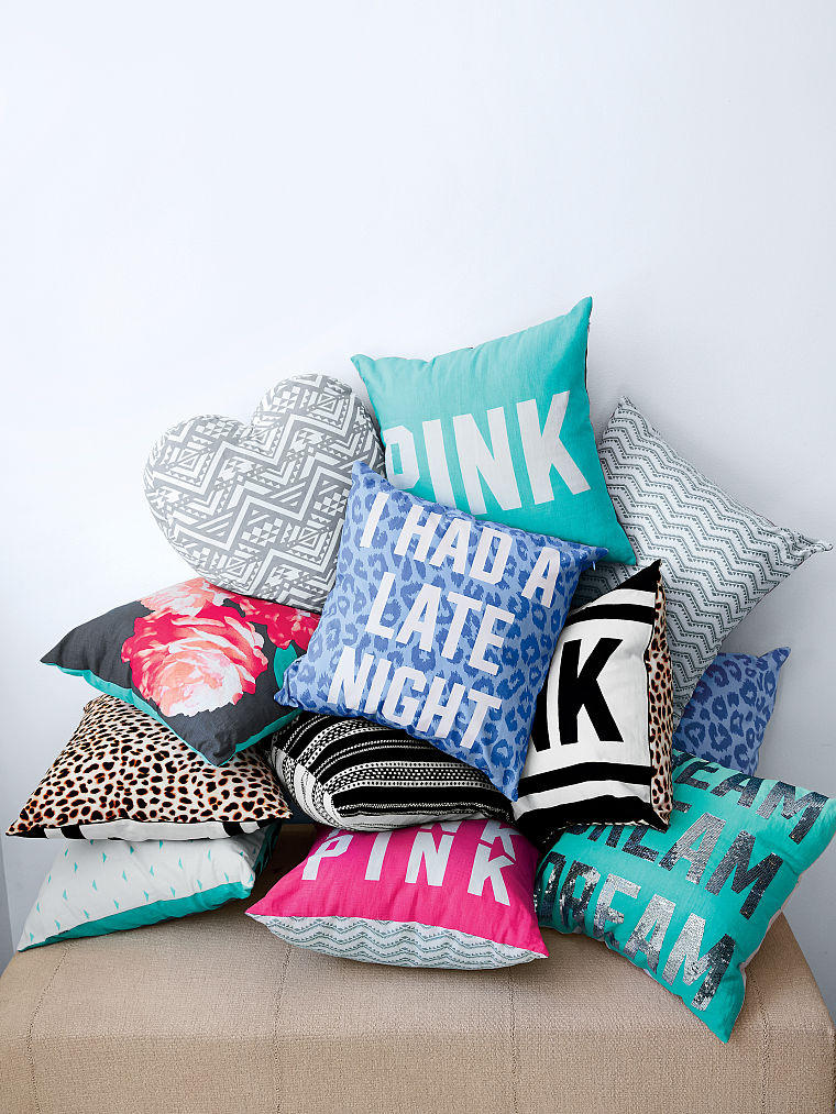 Throw Pillow - PINK - Victoria s Secret from VS PINK Quick